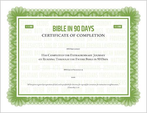 B90 Certificate