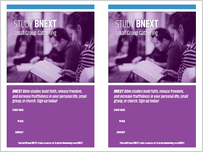 BNEXT Bulletin Inserts